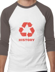 Recycle History Men's Baseball ¾ T-Shirt