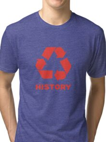 Recycle History Tri-blend T-Shirt