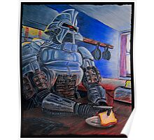 Toasters make Toast - Cylon Print Poster