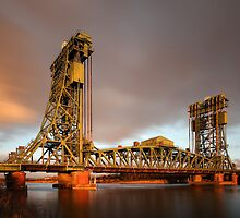 The Tees Newport Bridge by PaulBradley