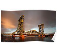 The Tees Newport Bridge Poster