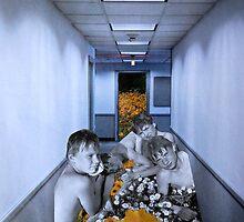 The Boys In The Hall by Mary Ellen Garcia