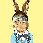 Nerd Bunny by SteveOramA
