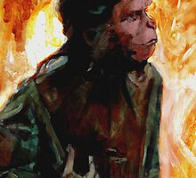 Planet of The Apes: Bookmark by Graham Hill