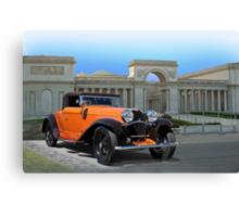 1930 Bugatti Convertible Coupe Canvas Print