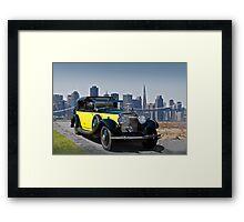 1930 Rolls-Royce Phantom II Framed Print
