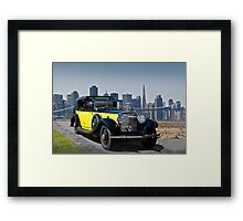 1930 Rolls-Royce Phantom II Framed Print