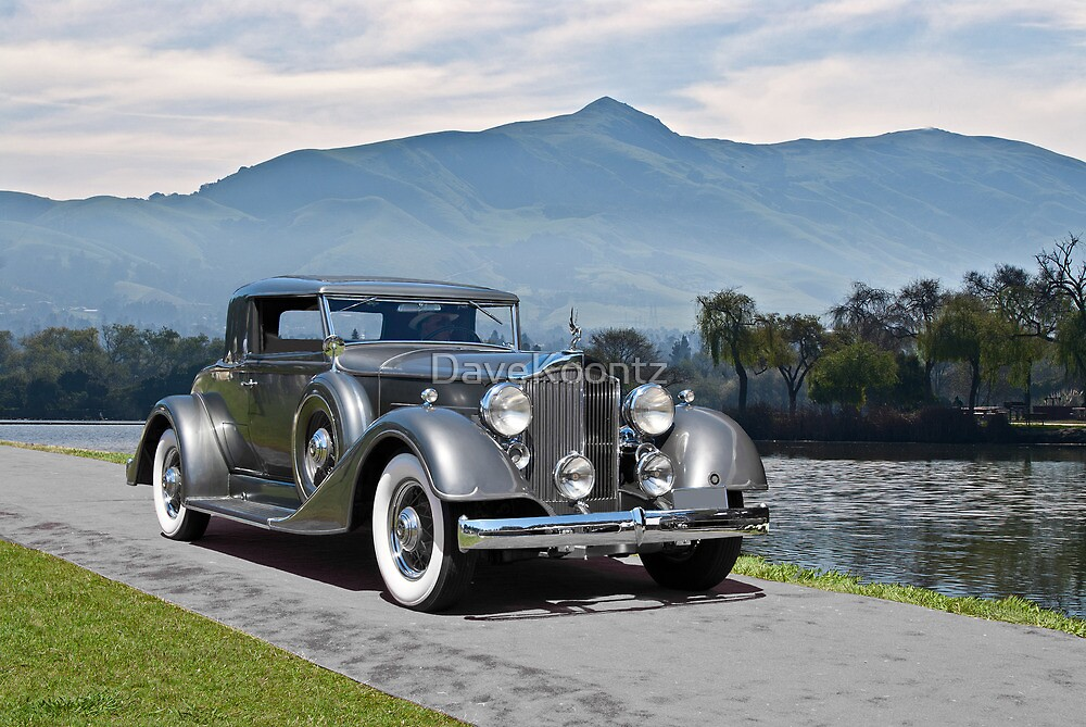 1934 Packard Coupe by DaveKoontz