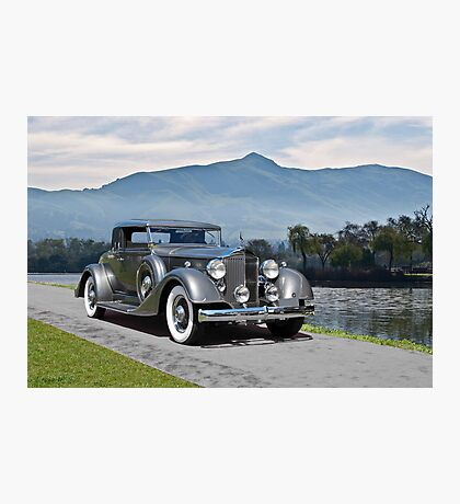 1934 Packard Coupe Photographic Print