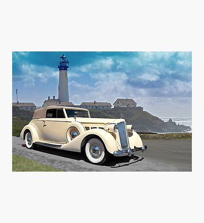 1935 Packard, Victoria Convertible Coupe Photographic Print