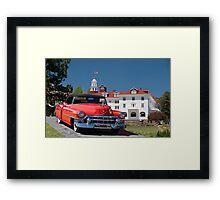 1953 Cadillac Eldorado Convertible Framed Print