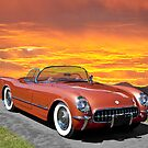 1955 Corvette Roadster by DaveKoontz