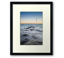 Sunset Waters Framed Print