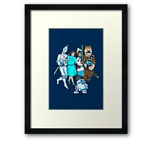 There's No Place Like Space Framed Print