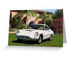 1964 Ferrari 400 Superamerica Greeting Card