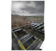 Aust Ferry 4, River Severn, Gloucestershire Poster