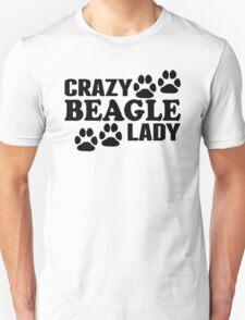 Crazy Beagle Lady T-Shirt