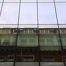 Reflection, Chancery Place, Manchester by exvista