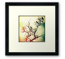 Tree of Crows Framed Print