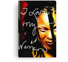 For my Girl Canvas Print
