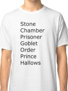 Harry Potter in Short Classic T-Shirt