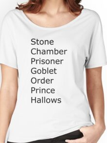 Harry Potter in Short Women's Relaxed Fit T-Shirt