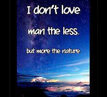 LovemoreNature2_iphonecase by alla521