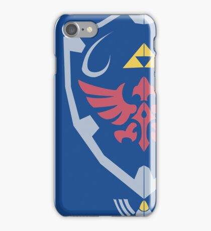 Master Sword and Hylian Shield iPhone Case/Skin