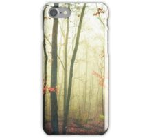 The Woods Are Lovely Dark and Deep iPhone Case/Skin