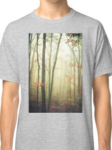 The Woods Are Lovely Dark and Deep Classic T-Shirt