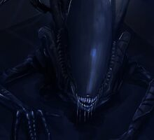 Alien Xenomorphs  by TheArtOfLuxifer