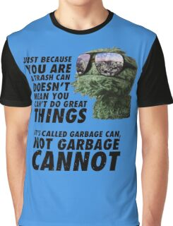 Garbage Can Graphic T-Shirt