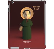 Mary Anning - Hammer Time! iPad Case/Skin