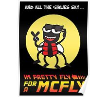 Pretty fly for a McFly Poster