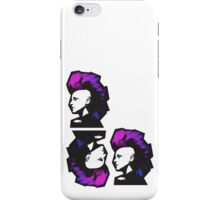 Punk in Violets and Blues iPhone Case/Skin