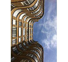 Art Deco sky Photographic Print