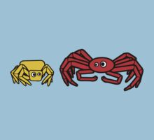 Crab Spider and Spider Crab by jezkemp
