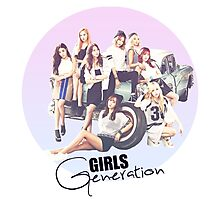 Girls Generation Photographic Print