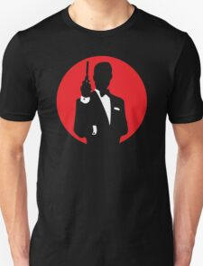 Nice James Bond Stencil Art T-Shirt