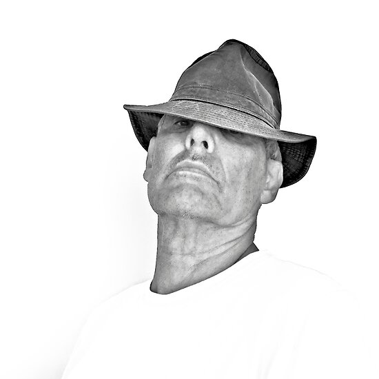 Tom With Hat by Thomas Barker-Detwiler