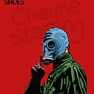 Dead Man's Shoes Paddy Considine Comic Style Illustration by Creative Spectator