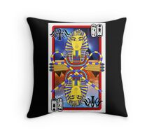"""Tutankhamun Tarot"" Throw Pillow"
