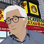 Woody Allen Portrait by nealcampbell