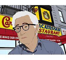Woody Allen Portrait Photographic Print