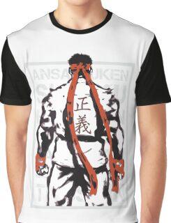 RYU01 - GRAY Graphic T-Shirt