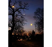Winter Dawn in the Suburbs of London Photographic Print