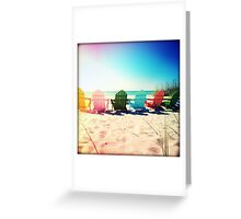 Rainbow Beach II Greeting Card