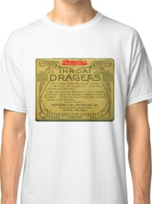 Vintage Detroit Throat Dragees Tin Cover ca. 1910 Classic T-Shirt