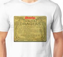 Vintage Detroit Throat Dragees Tin Cover ca. 1910 Unisex T-Shirt