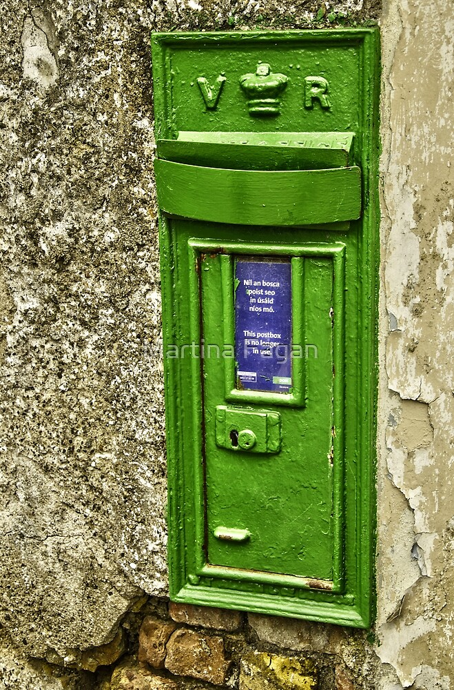 Old postbox. by Martina Fagan